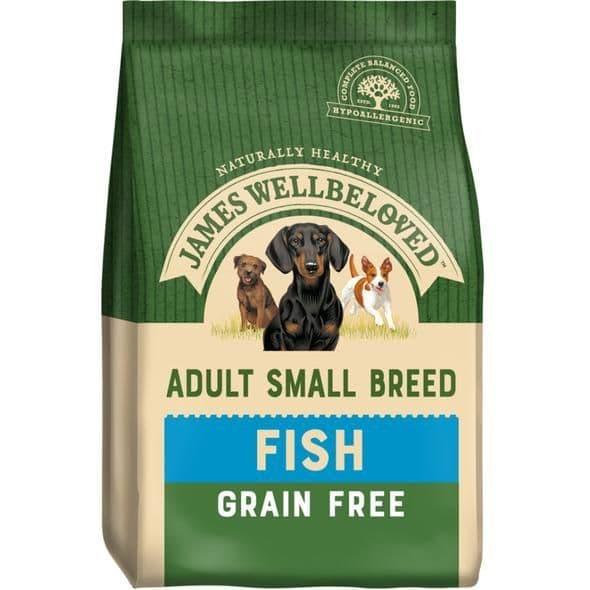 J/w adult small breed fish grain free